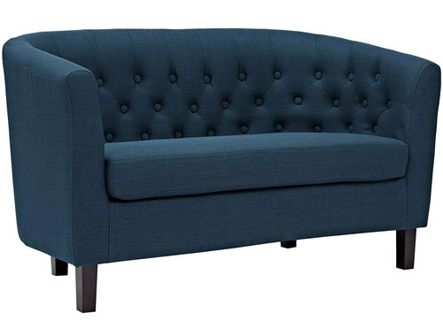Modway Prospect Loveseat Sofa (Fabric) - Blue (Azure)