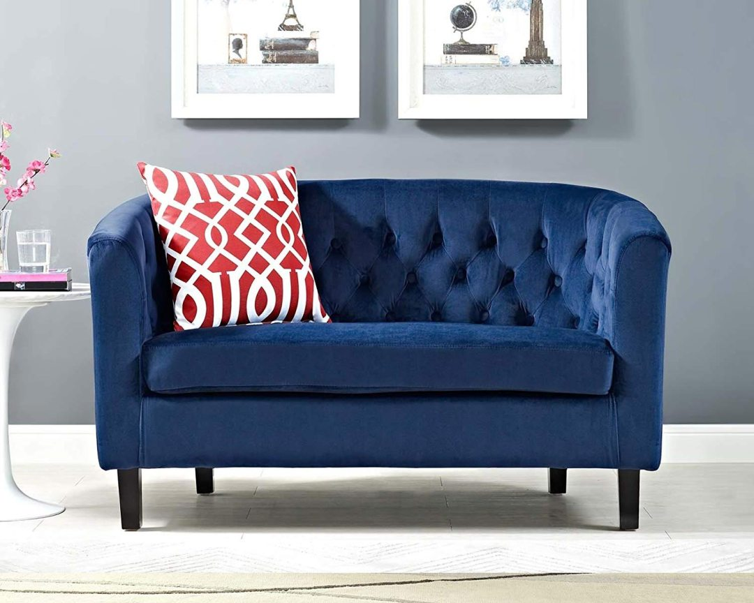 Modway Prospect Loveseat Sofa (Velvet) - Featured