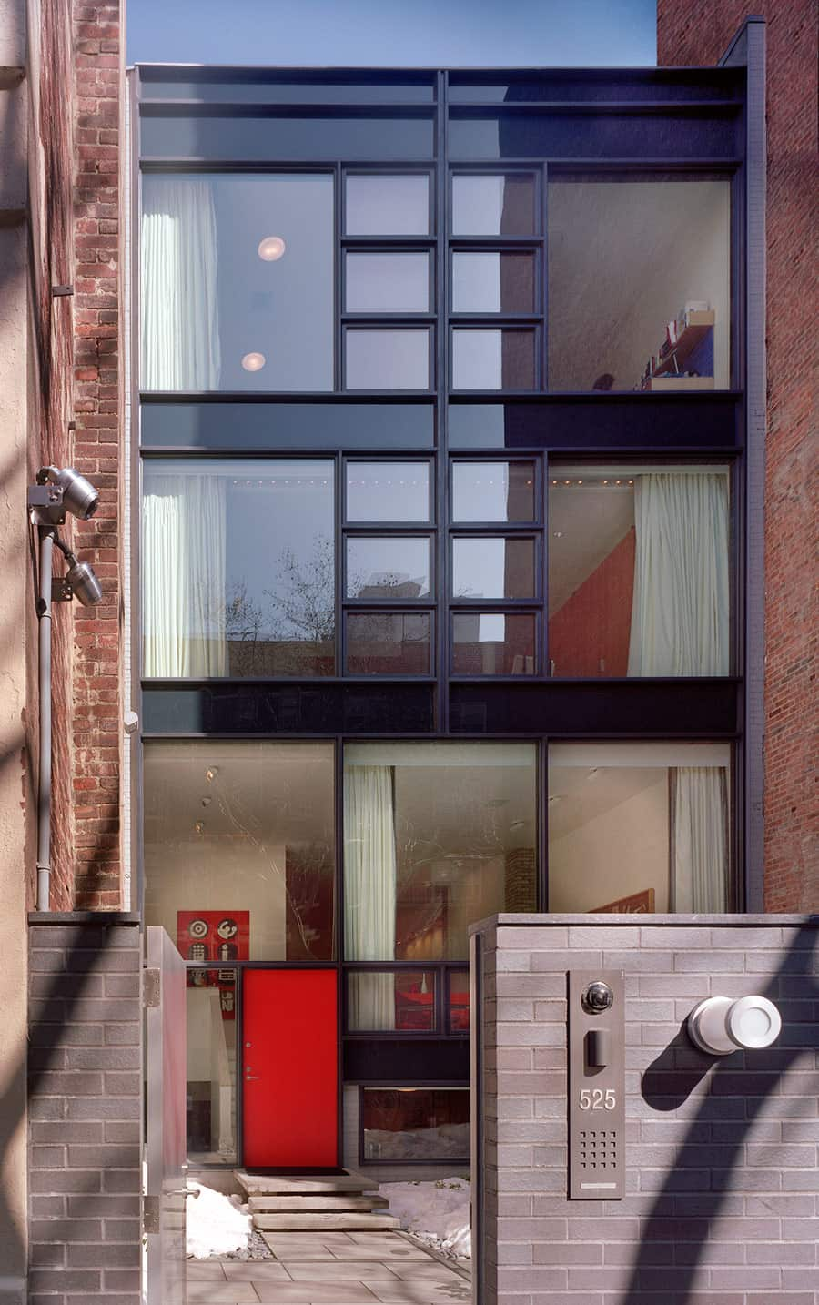 A Modernist New York Townhouse Mid Century Home