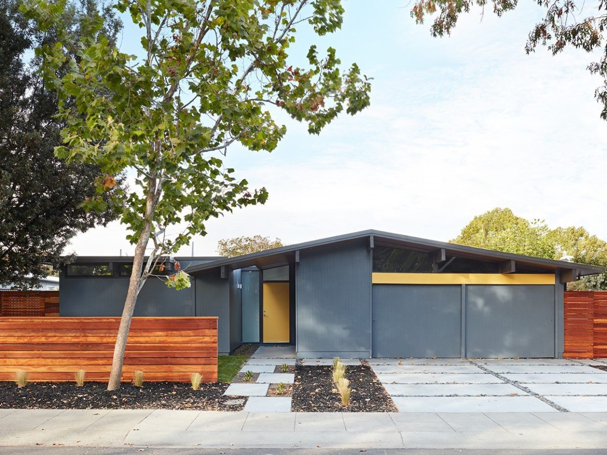 Mid Century Modern Homes Contemporary Style Houses