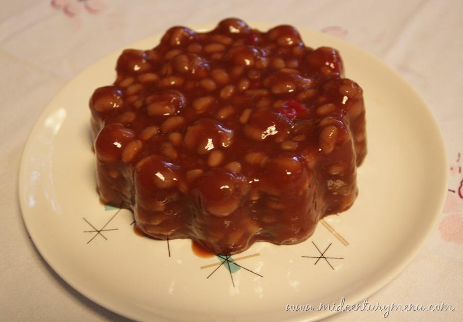 Barbecue Bean Mold – A Mid-Century Recipe Re-Run