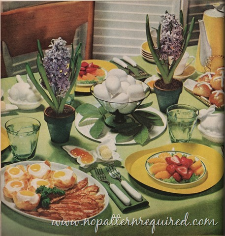 Happy Easter from Mid-Century Menu!