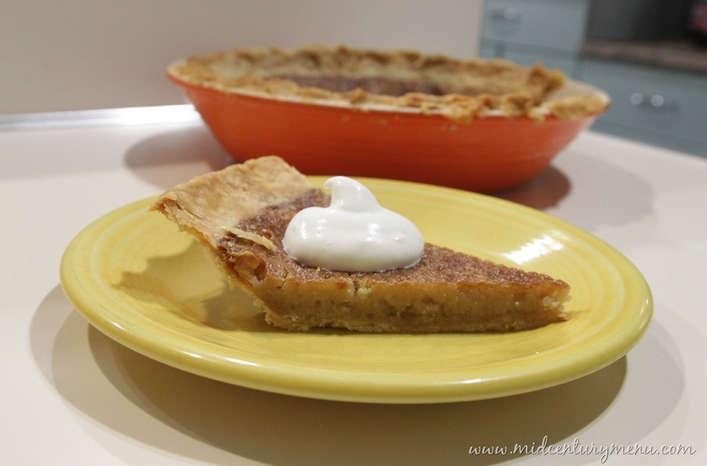 Aunt Maria's Vermont Maple Sugar Pie, 1945 – A Vintage Pie Recipe Test