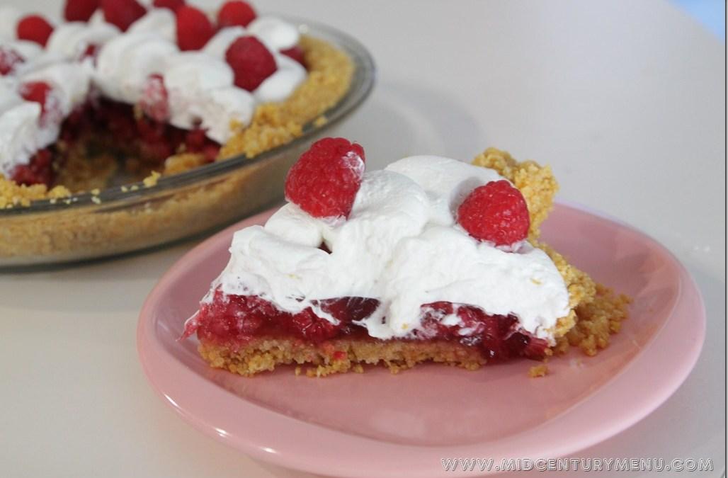 Raspberry Pie, 1941 – Vintage Recipe Test