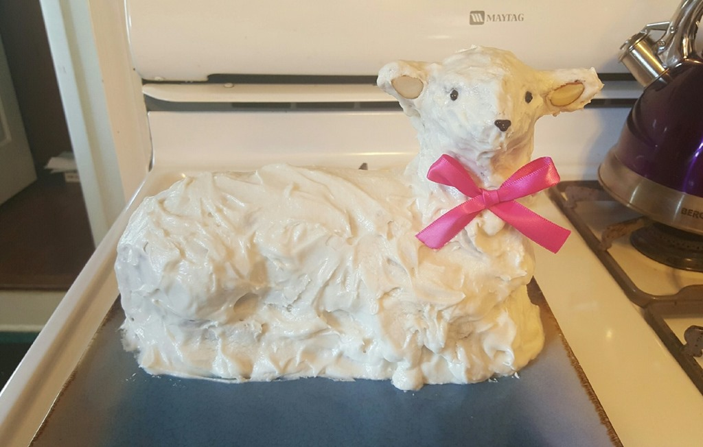 Reader's Easter Lamb Cake Gallery for 2016 – With Giveaway Winners And A Few Rabbits!