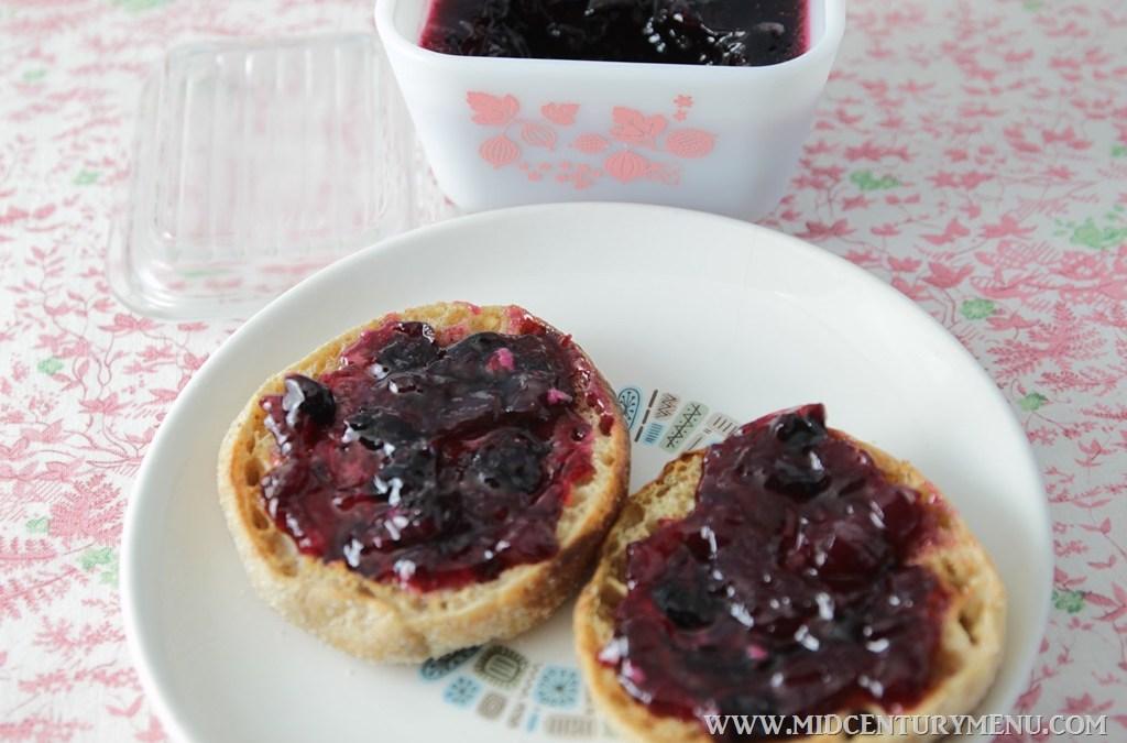 Bluebarb Jam, 1959 – A Vintage Recipe Test