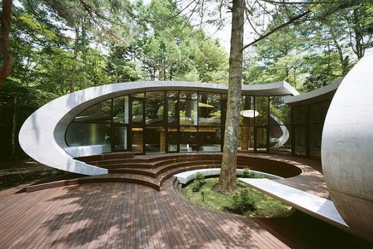 ARTechnic-Japan-Concrete-Organic-Shell-Residence-Japan