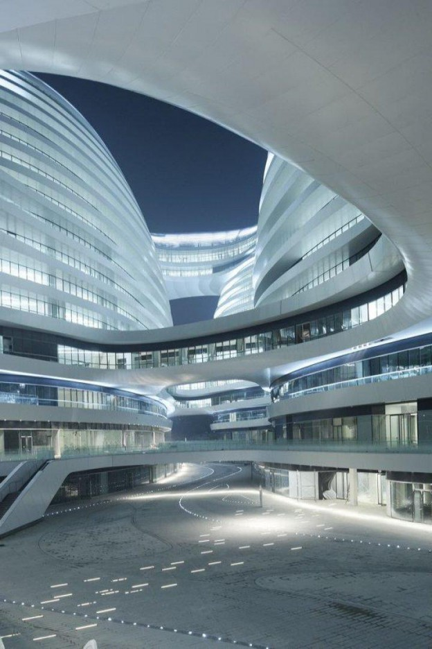 Galaxy Soho, Beijing, China by Zaha Hadid.