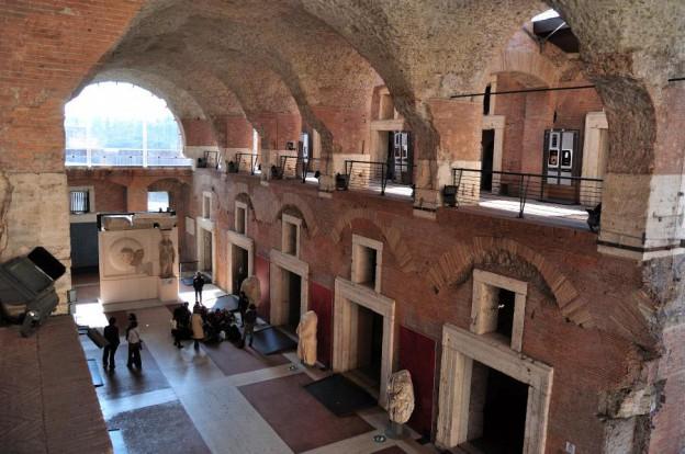 Trajan's Market, Interior View