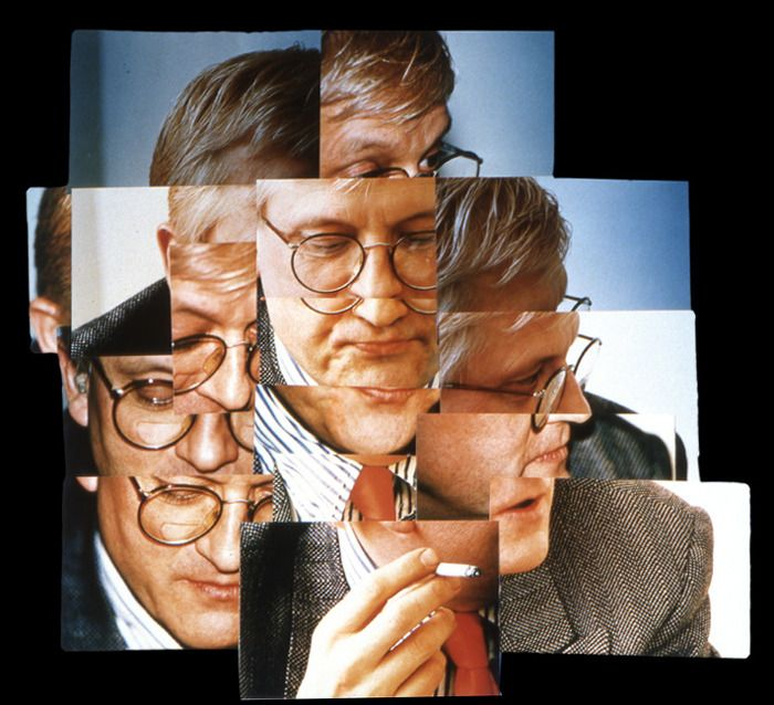 David Hockney Collage