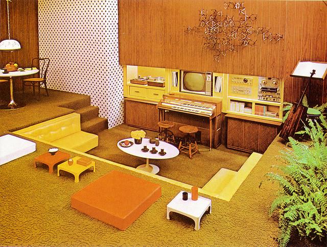 Interior Design Mid Century Modern Groovy