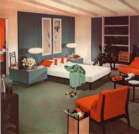 unlike today modern schemes featured color statements not consisting entirely of neutrals finding a house during the mid century entirely of shades of add midcentury modern style