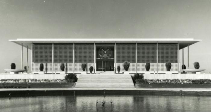 US Embassy, New Delhi, India 1954.