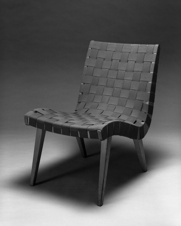 Lounge Chair, Model 654W, 1941.