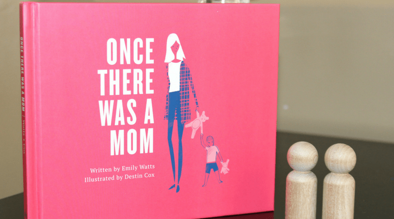 Once There Was a Mom is a sweet book about motherhood. | MiddayMornings.com