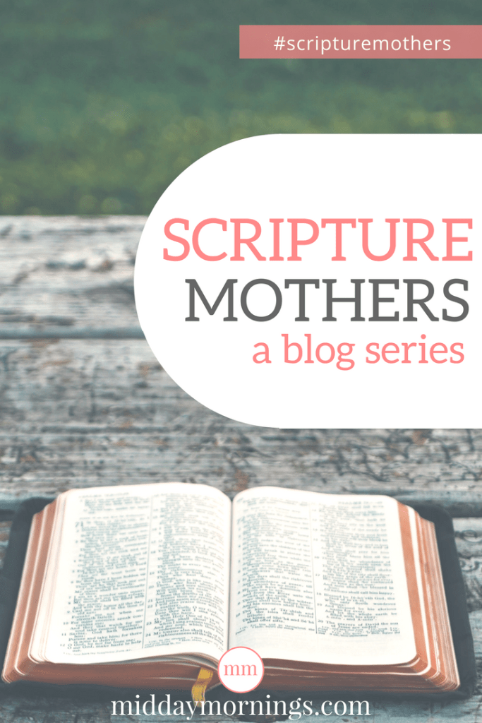 Right where we are, as we are today, we can connect to our sisters in the scriptures if we but make the effort to seek out their stories. Read more at MiddayMornings.com #motherhood #mothersinthescriptures