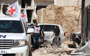 Syrian humanitarian food farce