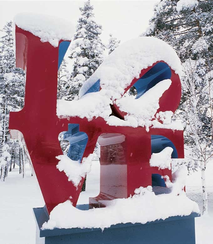 Robert Indiana American Born 1928 Middlebury