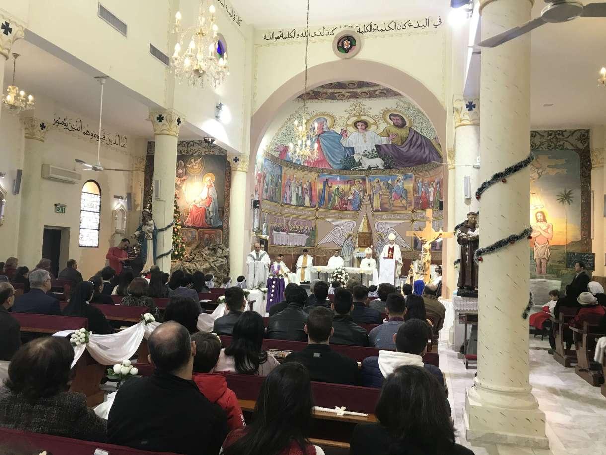 Gaza church