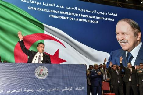 Bildergebnis für Algeria's ruling party backs President Bouteflika for 5th term