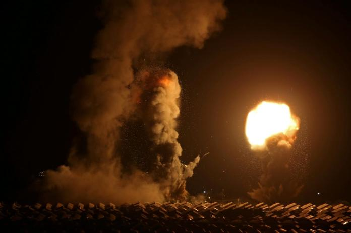 Gaza: Israel shells Hamas posts as rockets fired | Middle East Eye