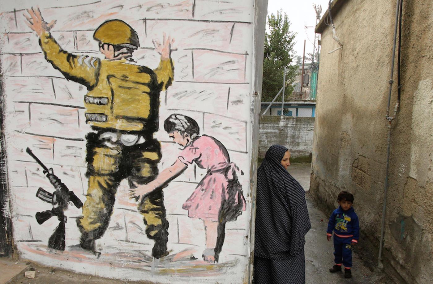 Banksy Opens Walled Off Hotel In Bethlehem Middle East Eye