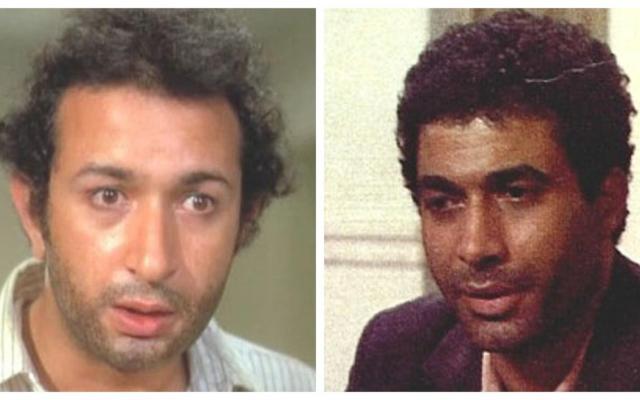 Dans El Karnak (1975), Nour El-Sherif (à gauche) a remplacé l'acteur pressenti pour le rôle, Ahmed Zaki (capture d'écran)