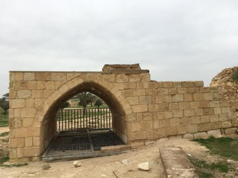 What remains of the Abu Yahya well (MEE/Sarah Helm)