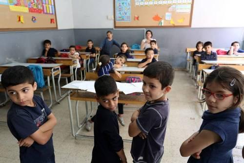 Lebanon Syrian Refugees School-Dominic Chavez World Bank