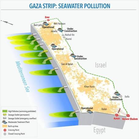Seawater Pollution (UN OCHA; August 2016)