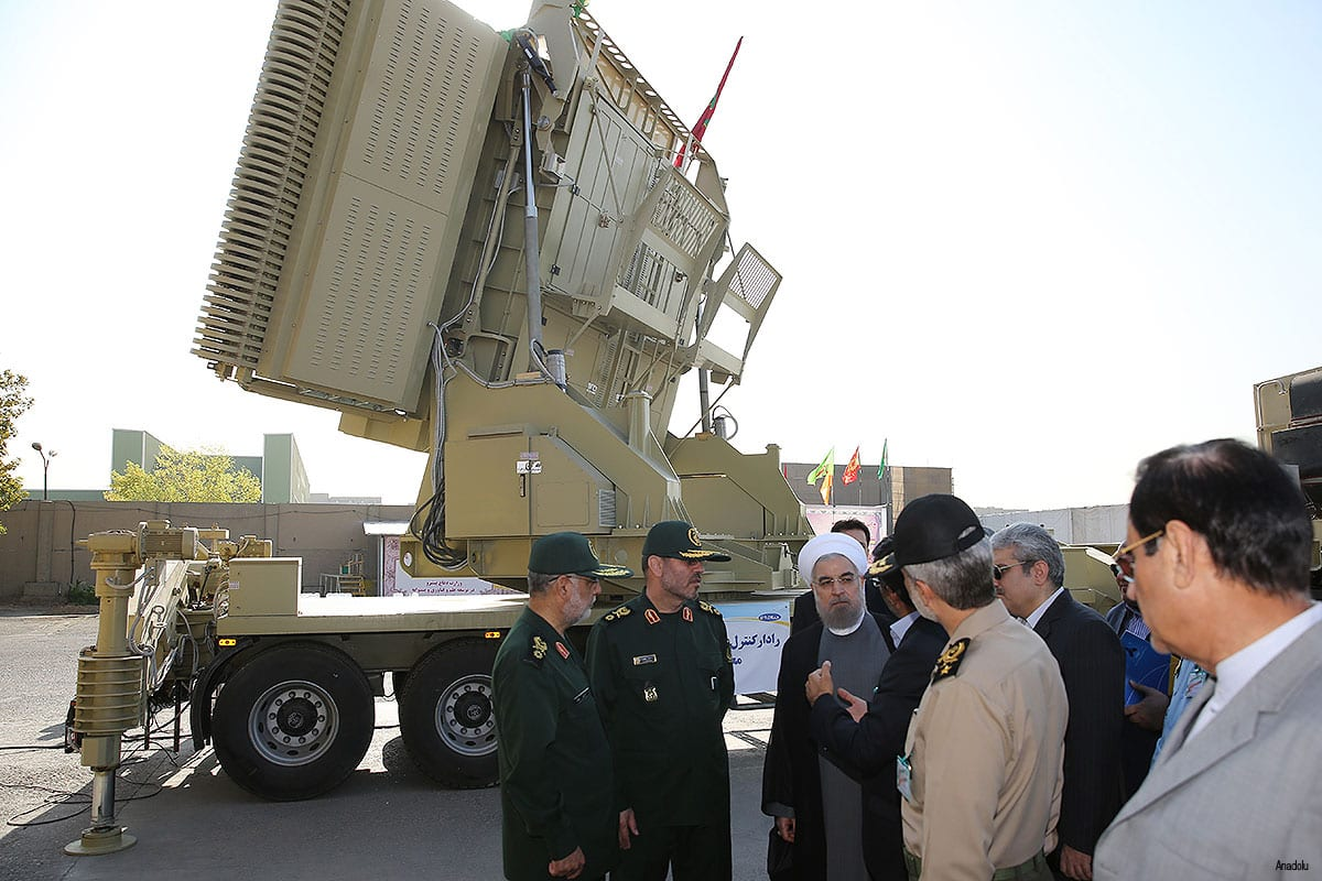 Iran successfully launches homegrown missile defence system during military exercise
