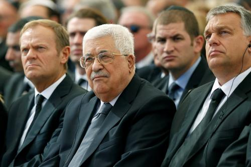 Hamas: Abbas participation in Peres funeral 'great sin'