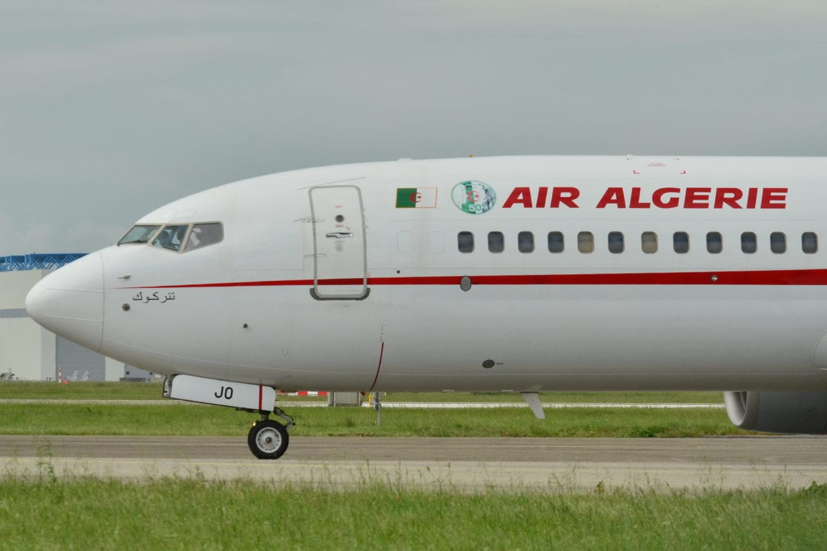 First direct algerian flight to hungary takes off middle for Vol interieur israel