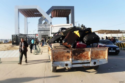 The Rafah crossing in Gaza [Apaimages]