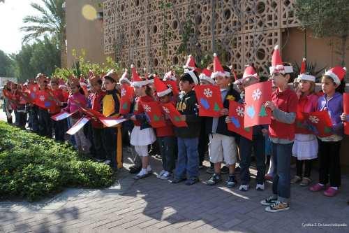 Bahrain children sing carols during Christmas on 13th December 2011 [Cynthia Z. De Leon/wikipedia]