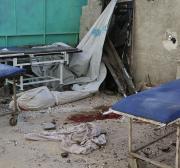 Assad regime barrel bombs knock out Aleppo's largest hospital