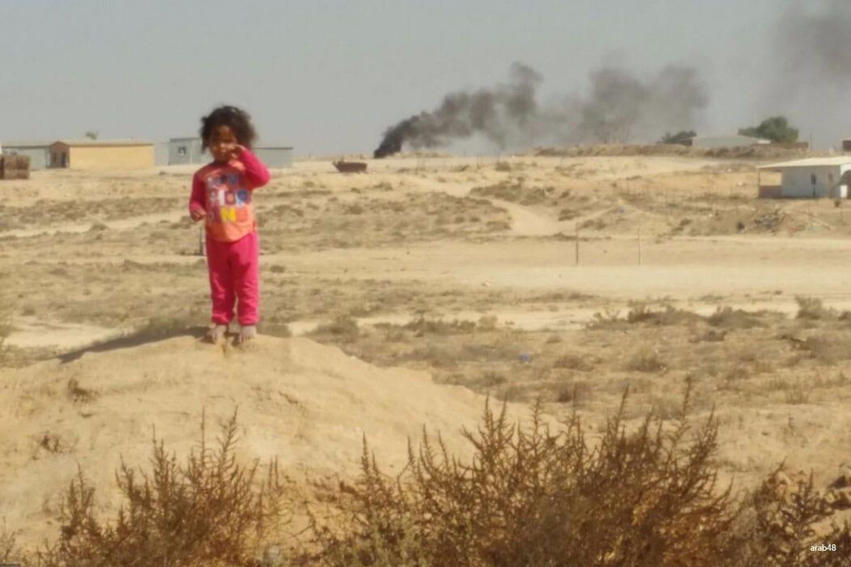 Israeli demolition in Bedouin village on 27th October 2016 [arab48]