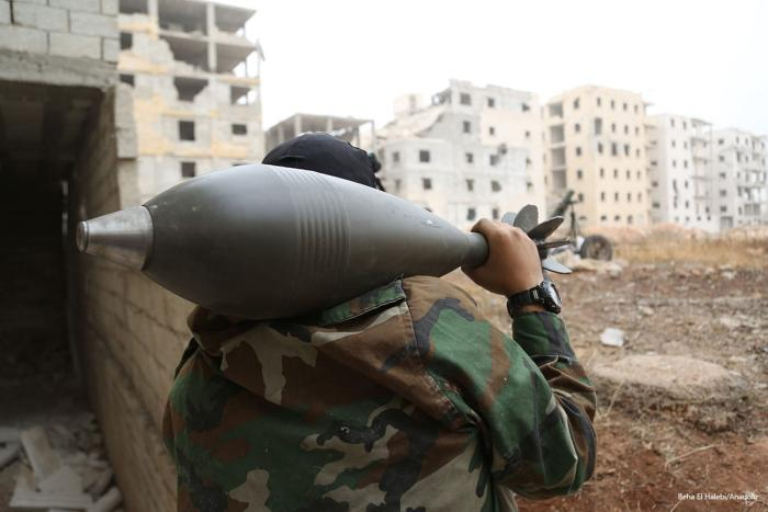Fighting rages on as Syrian opposition press Aleppo offensive