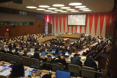 Image of the UN Security Council in session [Twitter / @katherga1]