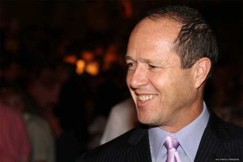 Nir Barkat appears at the Jerusalem Film Festival on 5th July 2012 [אילן קוסטיקה /Wikipedia]