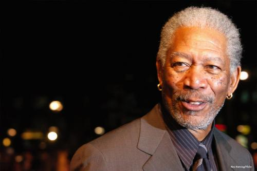 Actor Morgan Freeman [Kim Støvring/Flickr]