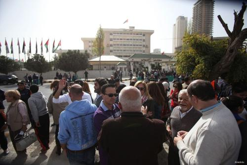 Jordanians call for overthrow of the government