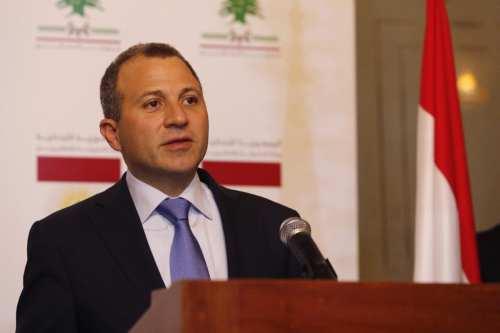 Lebanese Foreign Minister Gebran Bassil in Beirut, Lebanon [Ratib Al Safadi/Anadolu Agency]