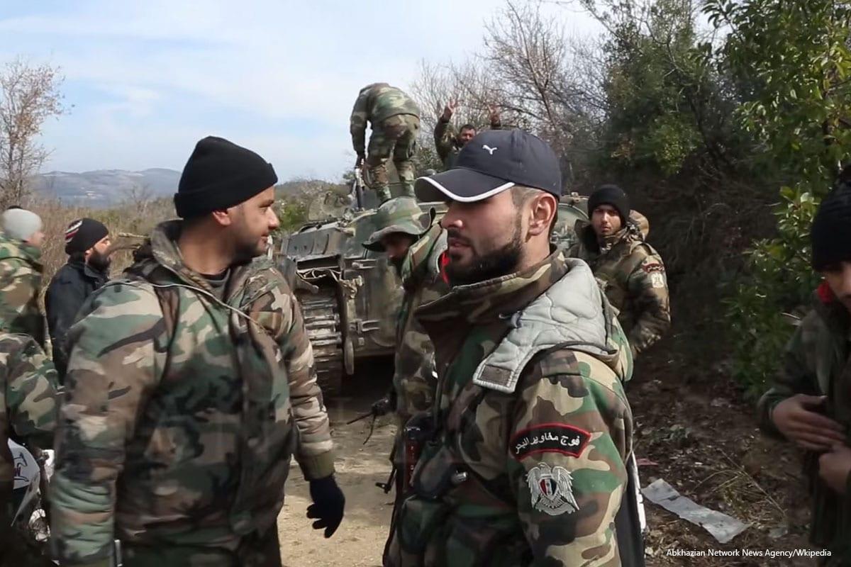 Syrian Marines on 28th February 2016 [Abkhazian Network News Agency/Wkipedia]