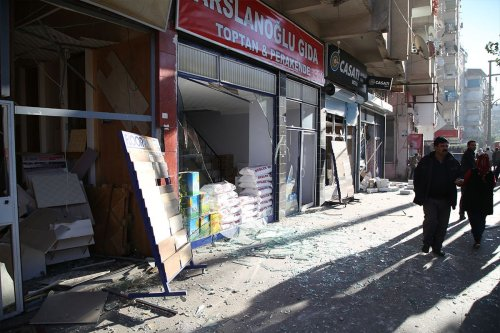 A car bomb exploded in Turkey's largest city of Diyarbakir killing eight and injuring more than 40 on 4th November 2016 [Hasan Namlı]