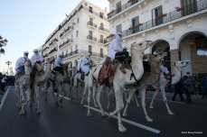 A parade held during the 62nd anniversary of Algerian war of independence in Algiers, Algeria on November 1, 2016 [Bechir Ramzy/Anadolu]