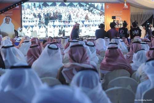 Image of Kuwaitis attending election campaigns in Kuwait City, Kuwait on November 19 2016 [Jaber Abdulkhaleg /Anadolu]
