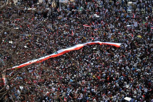 Over 1 million protestors in Tahrir Square, Egypt on 2nd April 2011 [Lilian Wagdy/Wikipedia]