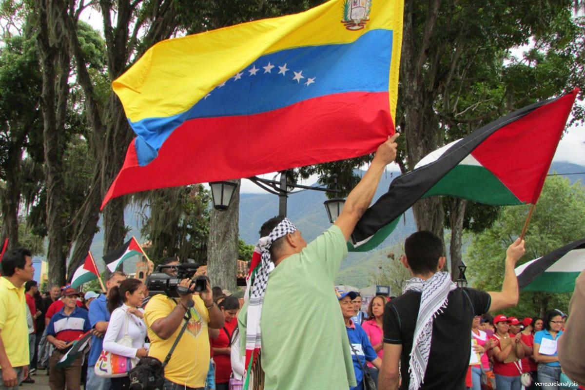 Venezuelans Rally in Support of Palestine [venezuelanalysis]