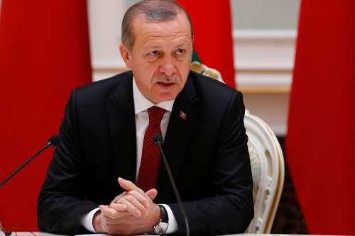 Image of Turkish President Recep Tayyip Erdogan on November 11 2016 [Murat Kaynak/Anadolu Agency]